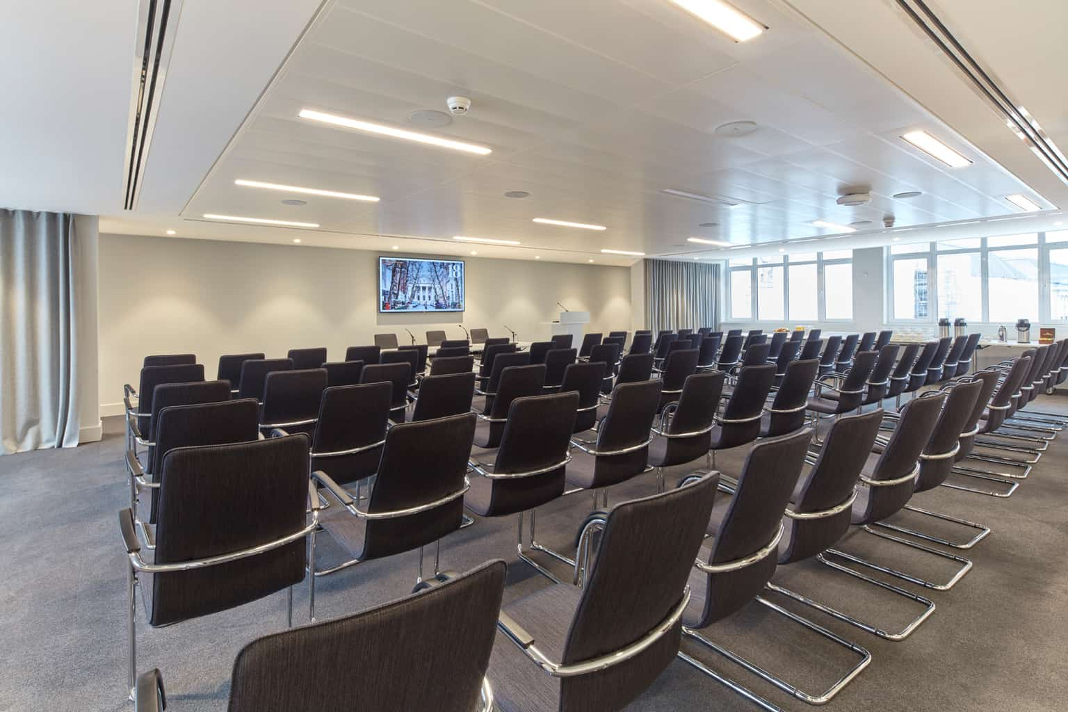 Westminster Room, 18 Smith Square Conference Venue, 80 theatre